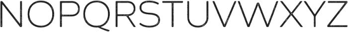 Zing Sans Rust Light Base Line Diagonals otf (300) Font UPPERCASE