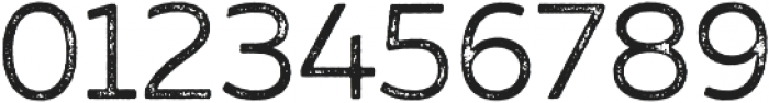 Zing Sans Rust Regular Base Grunge otf (400) Font OTHER CHARS