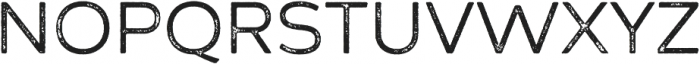 Zing Sans Rust Regular Base Grunge otf (400) Font UPPERCASE