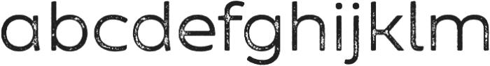 Zing Sans Rust Regular Base Grunge otf (400) Font LOWERCASE