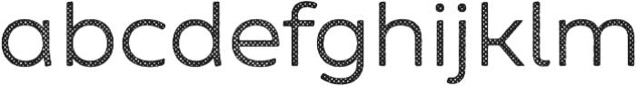 Zing Sans Rust Regular Base Halftone A otf (400) Font LOWERCASE