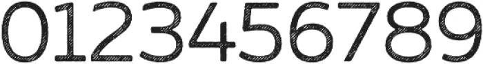 Zing Sans Rust Regular Base Line Diagonals otf (400) Font OTHER CHARS