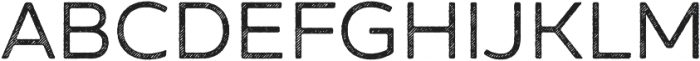 Zing Sans Rust Regular Base Line Diagonals otf (400) Font UPPERCASE