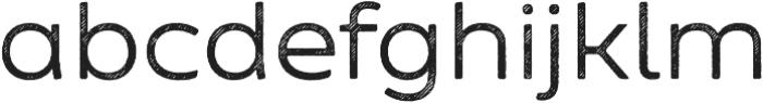 Zing Sans Rust Regular Base Line Diagonals otf (400) Font LOWERCASE