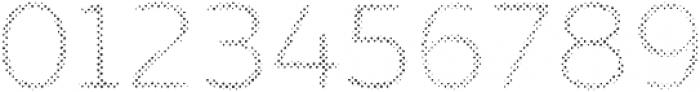 Zing Sans Rust Regular FIll Halftone A otf (400) Font OTHER CHARS