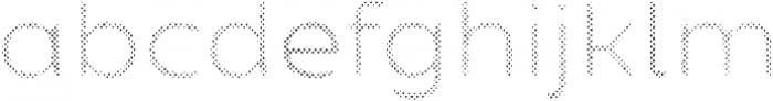 Zing Sans Rust Regular FIll Halftone A otf (400) Font LOWERCASE