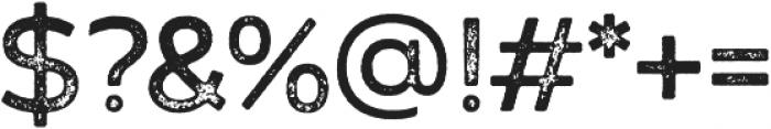 Zing Sans Rust Semibold Base Grunge otf (600) Font OTHER CHARS