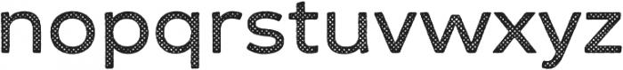 Zing Sans Rust Semibold Base Halftone A otf (600) Font LOWERCASE