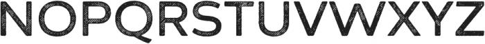 Zing Sans Rust Semibold Base Line Diagonals otf (600) Font UPPERCASE