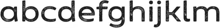 Zing Sans Rust Semibold Base Line Diagonals otf (600) Font LOWERCASE
