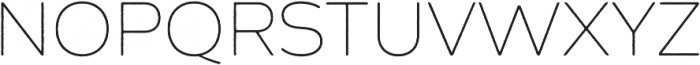 Zing Sans Rust Thin Base otf (100) Font UPPERCASE