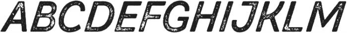 Zing Script Rust Bold Base Grunge otf (700) Font UPPERCASE