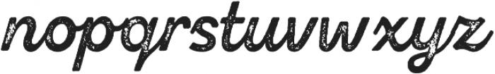 Zing Script Rust Bold Base Grunge otf (700) Font LOWERCASE