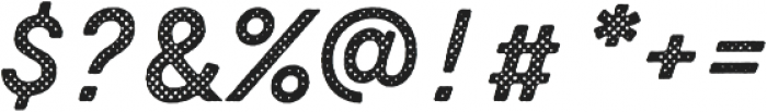 Zing Script Rust Bold Base Halftone A otf (700) Font OTHER CHARS