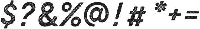 Zing Script Rust Bold Base Line Diagonals otf (700) Font OTHER CHARS