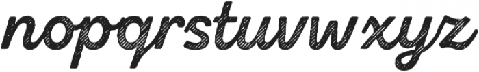 Zing Script Rust Bold Base Line Diagonals otf (700) Font LOWERCASE