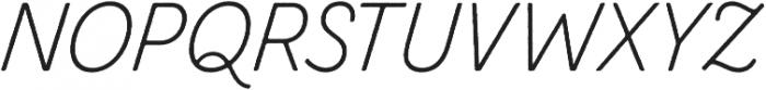 Zing Script Rust Light Base otf (300) Font UPPERCASE