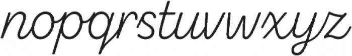 Zing Script Rust Light Base otf (300) Font LOWERCASE