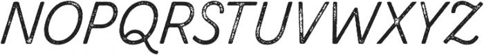 Zing Script Rust Regular Base Grunge otf (400) Font UPPERCASE