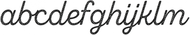 Zing Script Rust Regular Base Halftone A otf (400) Font LOWERCASE