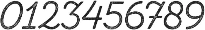 Zing Script Rust Regular Base Line Diagonals otf (400) Font OTHER CHARS