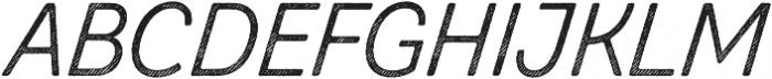 Zing Script Rust Regular Base Line Diagonals otf (400) Font UPPERCASE