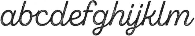 Zing Script Rust Regular Base Line Diagonals otf (400) Font LOWERCASE
