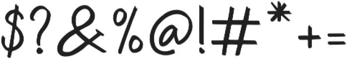 Zira otf (400) Font OTHER CHARS