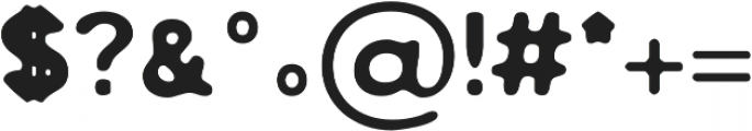 Zisel Blur otf (400) Font OTHER CHARS