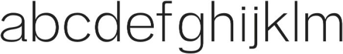 Zisel Light otf (300) Font LOWERCASE