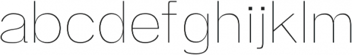Zisel Thin otf (100) Font LOWERCASE