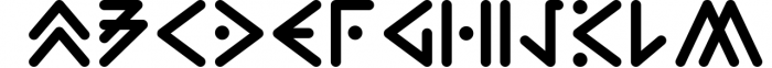 Zilap Extraterrestrial Ancestors Font UPPERCASE