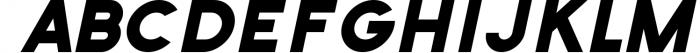 Zilap Universal Font UPPERCASE