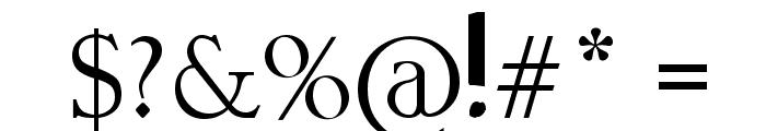 ZINZOZO Font OTHER CHARS