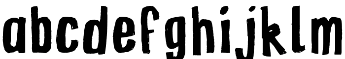 ZINZOZO Font LOWERCASE