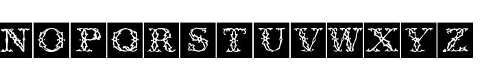 ZierCaps Font UPPERCASE