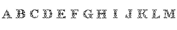 ZierCaps Font LOWERCASE