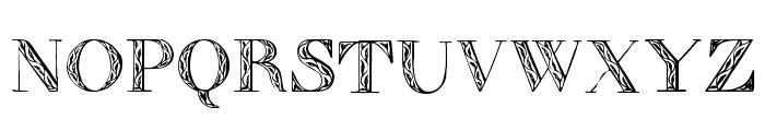 Zierinitialen1 Font UPPERCASE