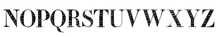 Zierinitialen2 Font UPPERCASE