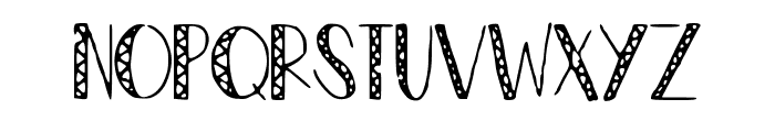 ZigZag Font UPPERCASE