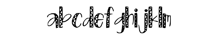 ZigZag Font LOWERCASE