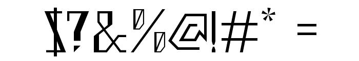 Ziggy Font OTHER CHARS
