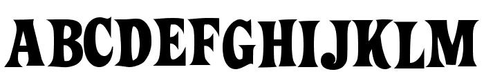 ZiggyStandard Font UPPERCASE