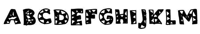 ZiggyZaggy Medium Font UPPERCASE