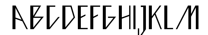 Ziggy Font LOWERCASE