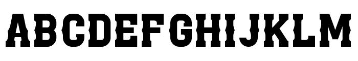 Zilap Combat Normal Font LOWERCASE