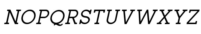 Zilap Corporative Italic Font UPPERCASE