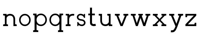 Zilap Corporative Font LOWERCASE