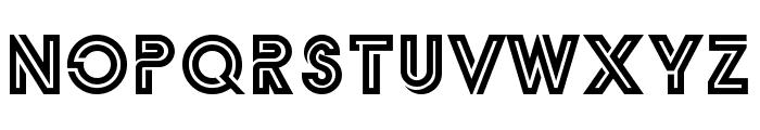 Zilap Monograma Font UPPERCASE