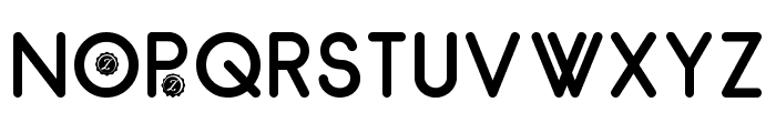 Zilap Natural Bold Font UPPERCASE